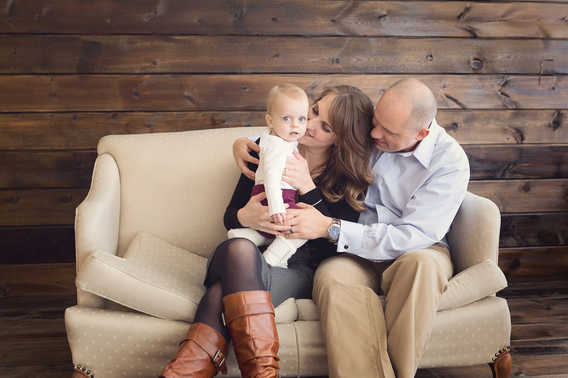 Omaha, Nebraska one year old baby and family photographer, print rights, CD, disc